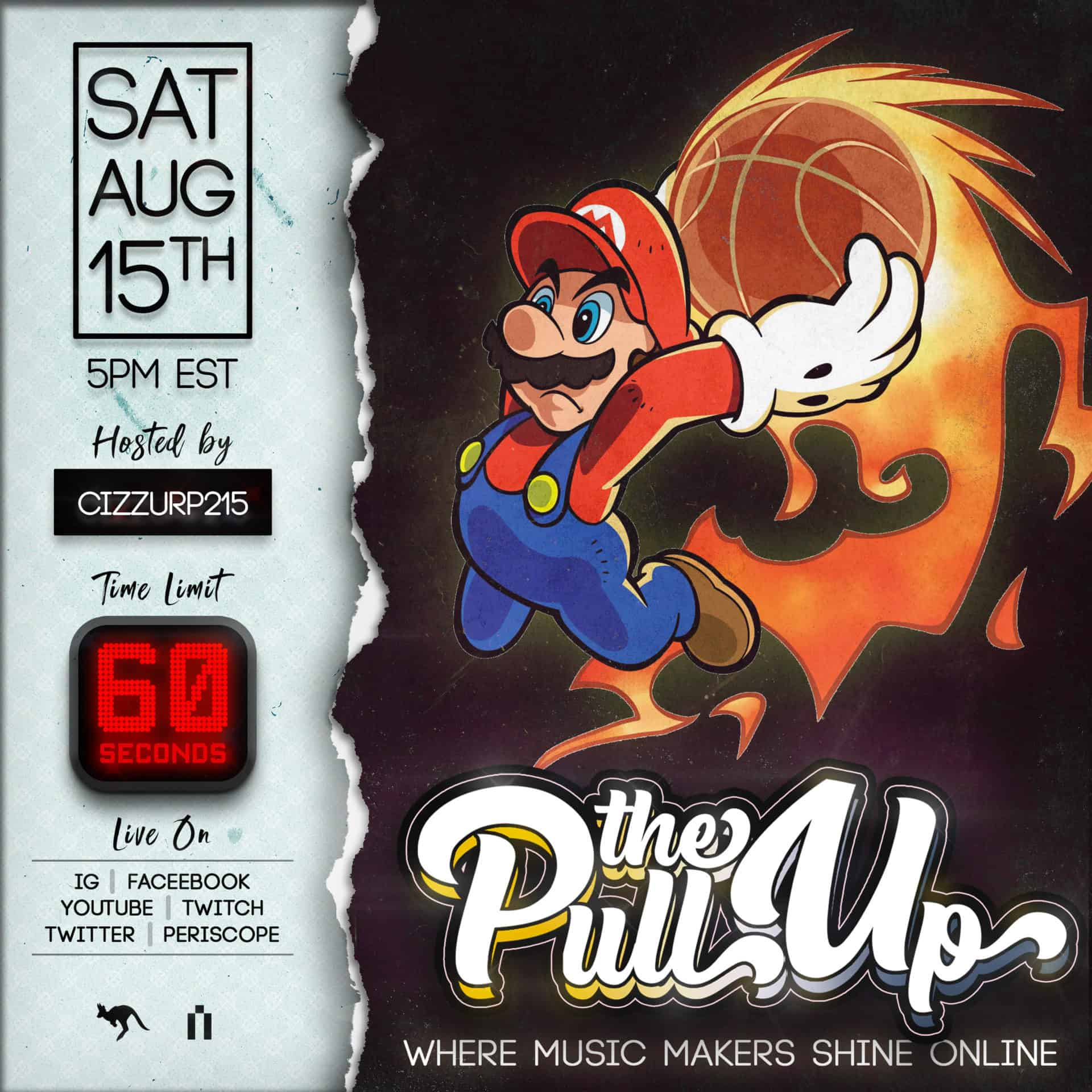 The Pull Up 20 Flyer